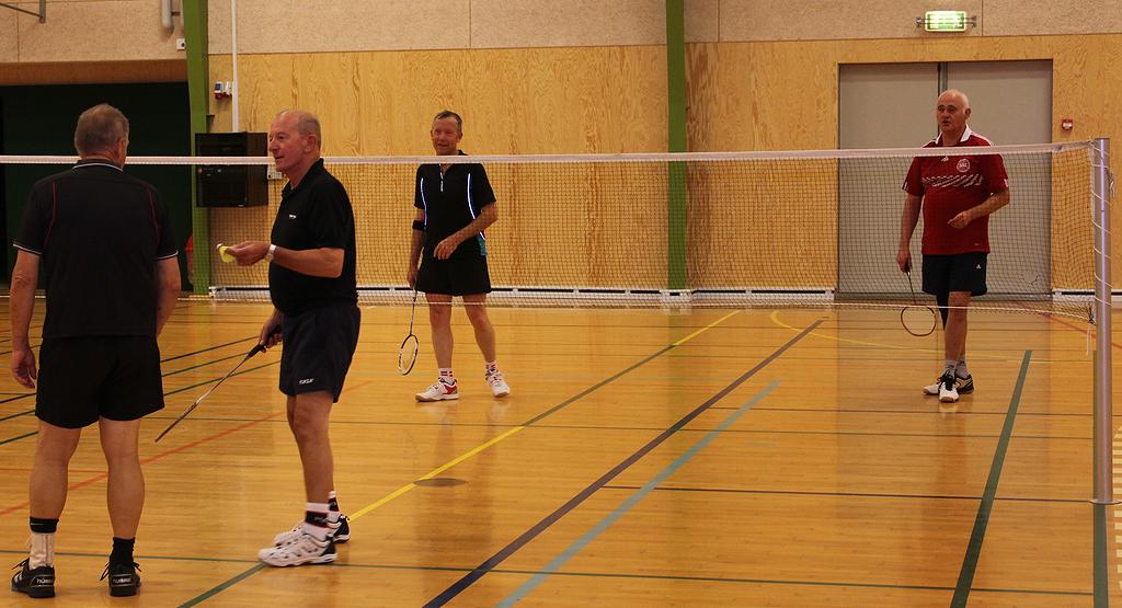 Badminton-herrer
