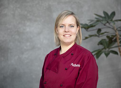 Mette er køkkenchef i Pulsen